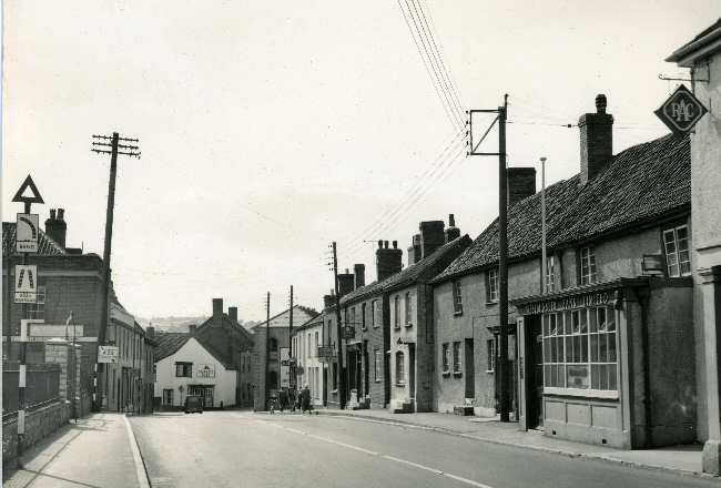 Fore street 1950s early 1960s - Click for 2005 view