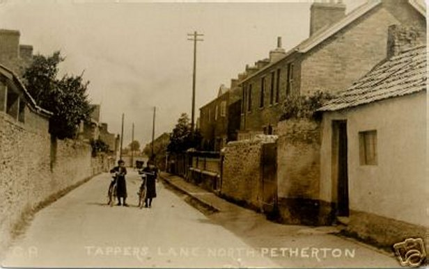 Tappers Lane North Petherton c1915